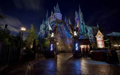 Castle Night Disneyland Wallpapers Disney Noche Castillo