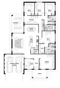 4 bedroom house plans home designs celebration homes - Floor Master Bedroom House Plans