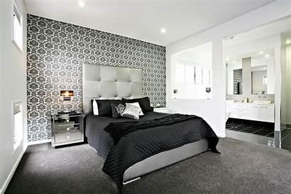 Feature Wall Dramatic Comeback Bedroom Accent Idea