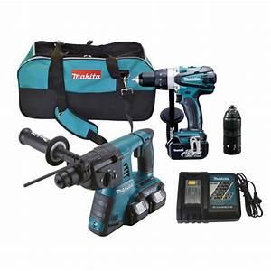 Perforateur Makita 36v : makita 18v set dlx2082m perceuse batterie ddf458 36v ~ Premium-room.com Idées de Décoration
