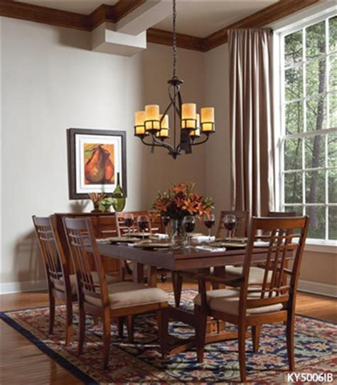 kitchen lighting rustic dining room burlington by