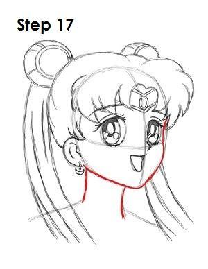 draw sailor moon