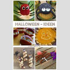 Halloweenrezepte Für Die Kinderparty