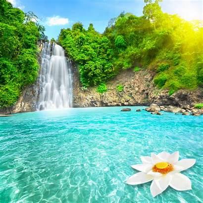 Waterfall Wallpapers 3d Nature Wallpapersafari