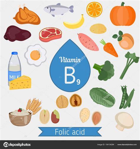 alimenti ricchi di acido folico e vitamina b12 vitamina b9 o 225 cido f 243 lico infograf 237 a archivo im 225 genes