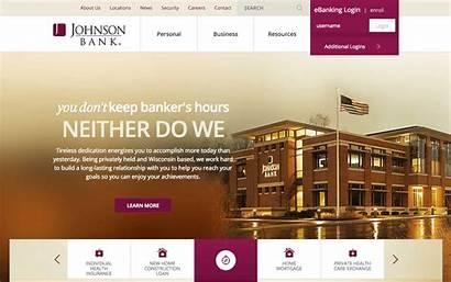 Bank Website Designs Credit Johnson Union Definitive