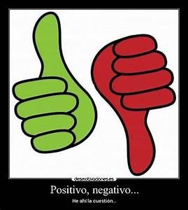 Imagenes De Positivo Y Negativo