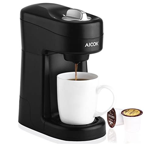 It goes on sale alot for black friday and cyber monday. Aicok Single Serve K-Cup Compatible Coffee Maker For $24.17 Shipped From Amazon - DansDeals.com