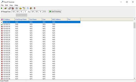 ip scanner  build