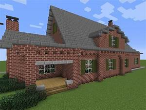 Brick Mansion Minecraft Project