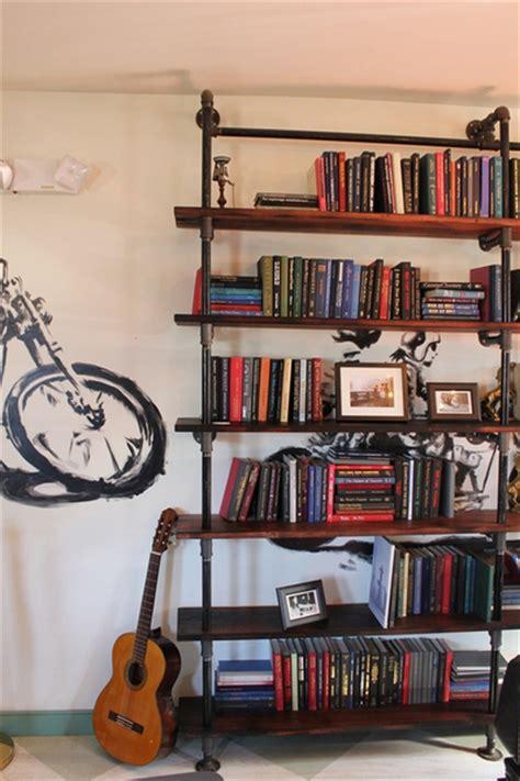 diy shelf ideas built  industrial pipe simplified building
