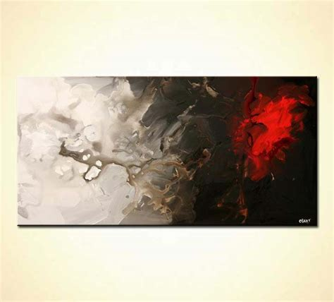 Abstract Acrylic Painting On Black Background by Buy Spot On Black And White Background 5322