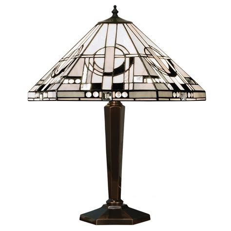 Outdoor Lamps Uk by Art Deco Tiffany Table Lamp From Interiors 1900 Silver