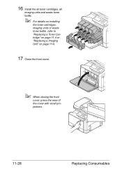 Now let's program the konica/minolta bizhub. How To Reset Waste Toner Box Full Error.on Bizhub C35 | Konica Minolta bizhub C35 Support