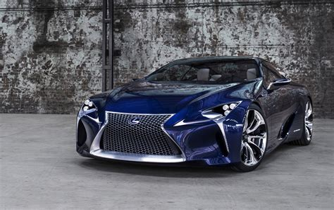 Lexus Car : Lexus Trademarks 'lc 500' & 'lc 500h', Based On Lf-lc