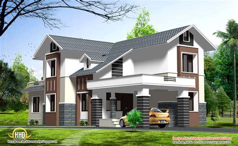 double story home design kerala floor home plans