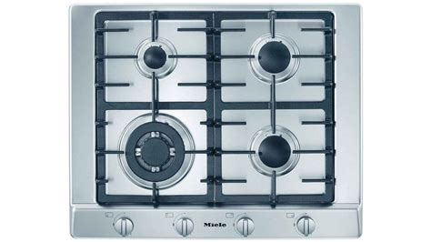 Buy Miele 650mm 4 Burner Natural Gas Cooktop Stainless
