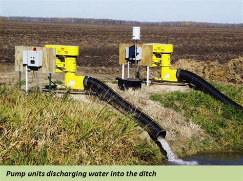 tile drainage pumps for farm fields 07 30 15 crop