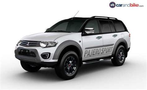 mitsubishi pajero sport price in india mileage features reviews mitsubishi cars