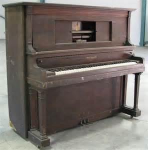Antique Upright Player Piano