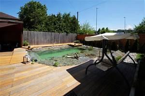 Kleine Terrasse Bauen : kleine schwimmteiche selber bauen und diy holzterrasse kombinieren freshouse ~ Markanthonyermac.com Haus und Dekorationen