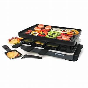 Schweizer Raclette Gerät : 8 person swiss raclette party grill country lane kitchens ~ Orissabook.com Haus und Dekorationen