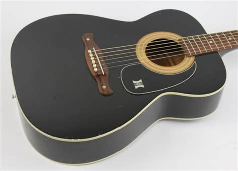1971 Harmony H164 Sovereign Black > Guitars Acoustic ...