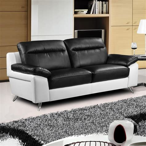 Leder Ecksofa Weiss by 2018 Black And White Leather Sofas Sofa Ideas