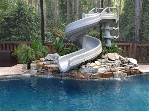 G Force 360 Degree Pool Slide G4c Pool Slides For Above