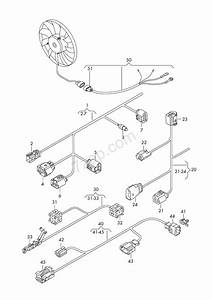 Part Section Wiring Harness  For Radiator Fan Tiguan  Tig