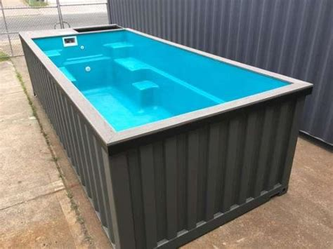 Pool Aus Container Bauen by 6m Container Pool Shipping Container Swimming Pool In