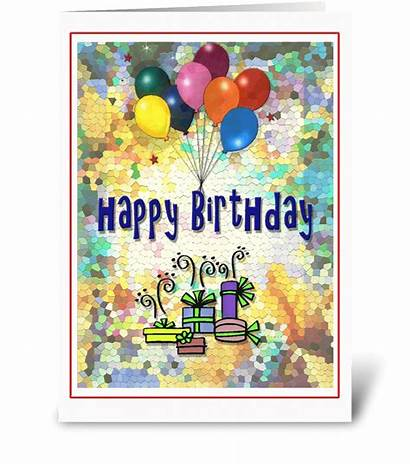Birthday Colorful Happy Cards Greeting Card Send