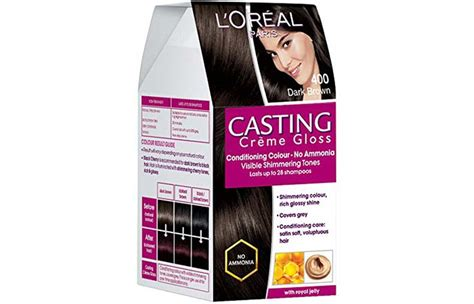 loreal paris casting creme gloss hair color review  shades