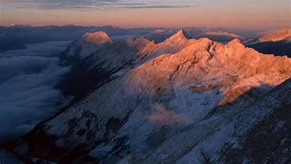 Mountains Height Greatness Dawn Mountain Wallpapers4u Snow