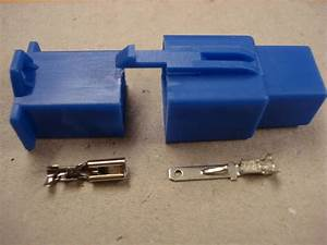 2 8mm 6 Way Blue Mtw Mini Latch Motorcycle Wiring Loom