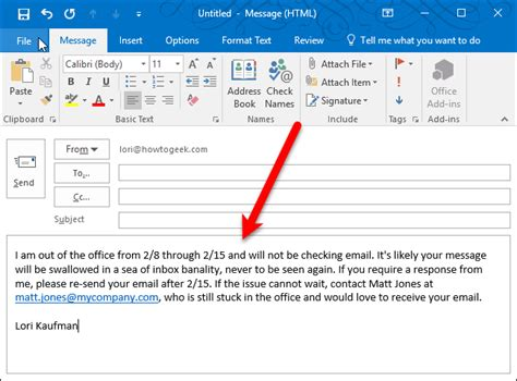 set     office reply  outlook  windows