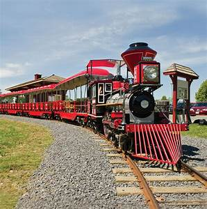 Miniature Train (The Moccasin) - St. Lawrence Parks Commission