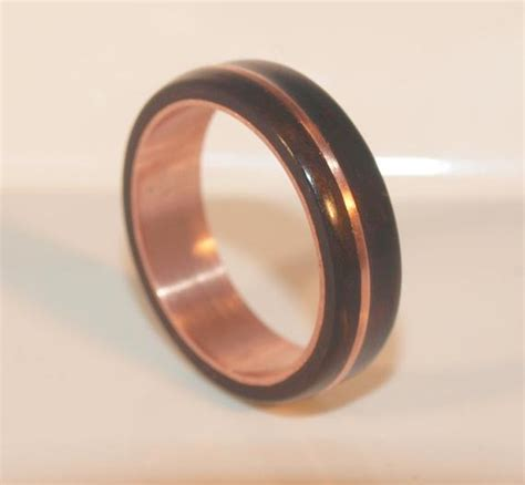 wooden rings bentwood copper and by ancientcuriosities