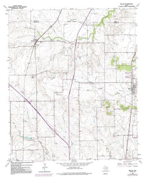 keller topographic map tx usgs topo quad 32097h3