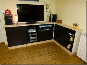 Meubles Besta Ikea : meuble tv avec best ~ Nature-et-papiers.com Idées de Décoration