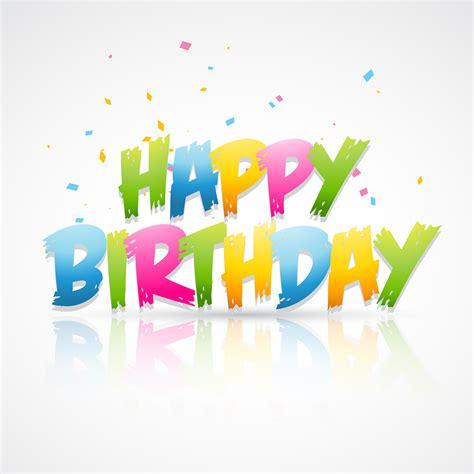 happy birthday card   vector art stock