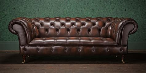 Chester Sofa by Chesterfields Of The Original Chesterfield Company
