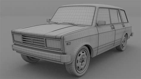 Lada Riva 3D Model OBJ BLEND DAE | CGTrader.com