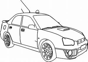 sports car coloring pages - sport rally car boxer coloring page