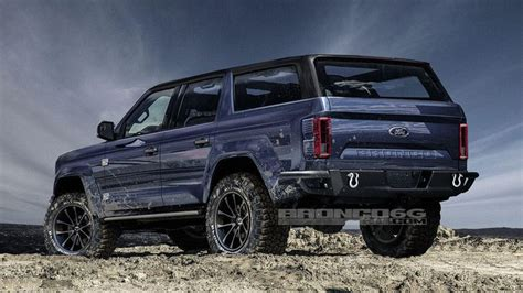 2020 Ford Bronco Rumored To Be A Wranglerfighting Hybrid