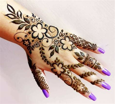 Mehndi dizain image - HD Wallpaper