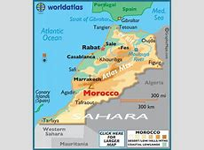 Morocco Map Geography of Morocco Map of Morocco