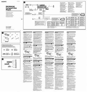 Sony Car Stereo Wiring Diagram Cdx M8815x