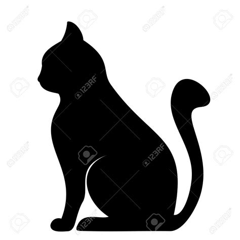 black cat drawing outline drawing black cat drawing