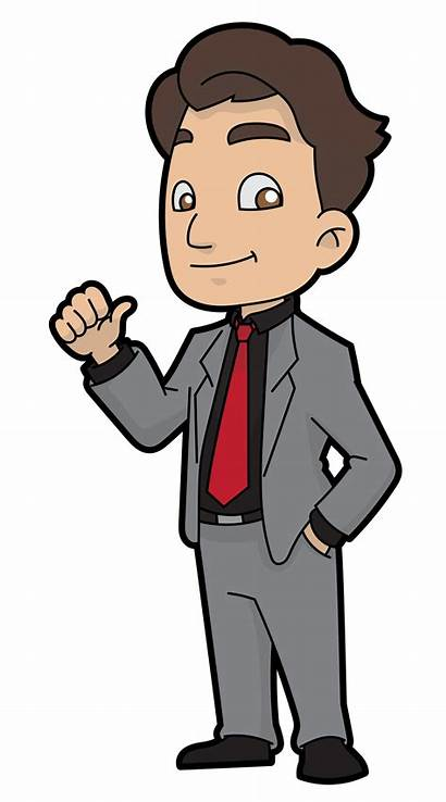 Cartoon Businessman Clipart Easygoing Svg Wikimedia Commons